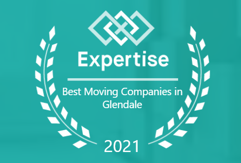 Expertise best moving companies in Glendale 2021 graphic